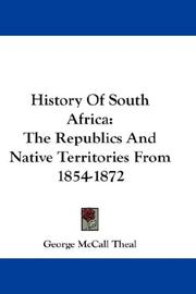 History of South Africa by Theal, George McCall