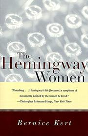 Cover of: The Hemingway Women | Bernice Kert