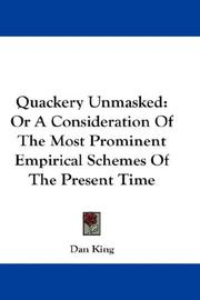 Cover of: Quackery Unmasked