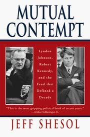 Cover of: Mutual Contempt | Jeff Shesol