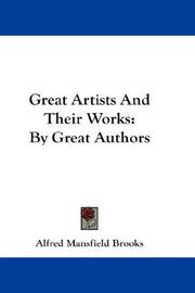 Cover of: Great Artists And Their Works