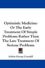 Cover of: Optimistic Medicine