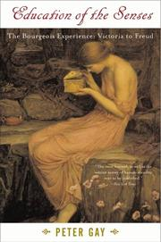 Cover of: Education of the senses