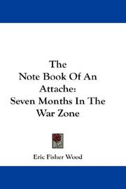 Cover of: The Note Book Of An Attache