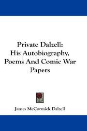 Cover of: Private Dalzell | James McCormick Dalzell