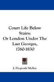 Cover of: Court Life Below Stairs