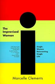 Cover of: The Improvised Woman | Marcelle Clements