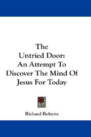 Cover of: The Untried Door