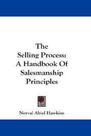 Cover of: The selling process