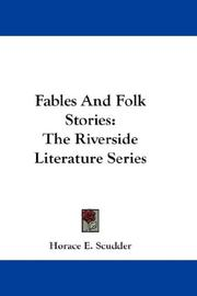 Cover of: Fables And Folk Stories