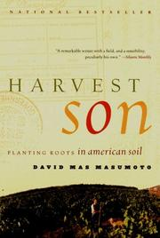Cover of: Harvest Son | David Mas Masumoto