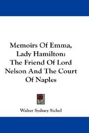 Memoirs of Emma, lady Hamilton by Walter Sydney Sichel
