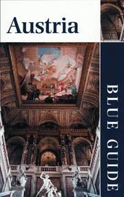 Cover of: Blue Guide Austria, Fourth Edition (Blue Guides) | Nicholas T. Parsons