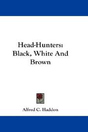 Cover of: Head-hunters: Black, White And Brown