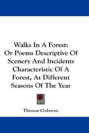 Cover of: Walks in a forest