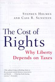 Cover of: The Cost of Rights