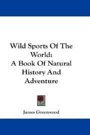 Cover of: Wild Sports Of The World