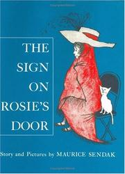 Cover of: The Sign on Rosie