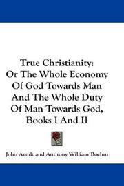 Cover of: True Christianity | John Arndt