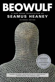 Cover of: Beowulf