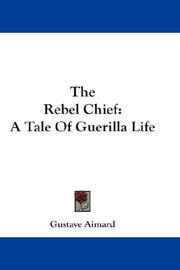 Cover of: The Rebel Chief
