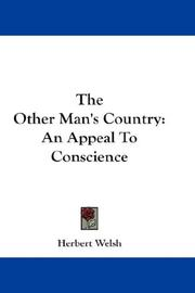 Cover of: The other man's country