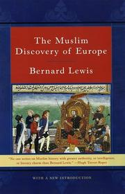 Cover of: The Muslim discovery of Europe