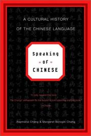 Cover of: Speaking of Chinese
