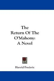Cover of: The return of the O'Mahony: a novel