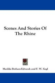 Cover of: Scenes And Stories Of The Rhine