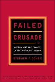 Cover of: Failed crusade