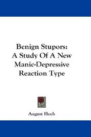 Cover of: Benign Stupors