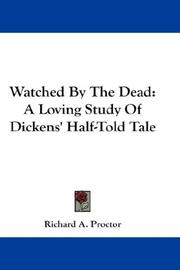 Cover of: Watched By The Dead | Richard A. Proctor