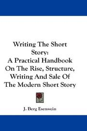 Writing the short-story by J. Berg Esenwein