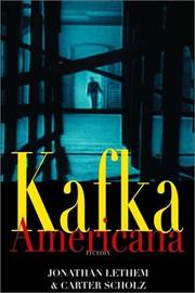 Cover of: Kafka Americana: Fiction