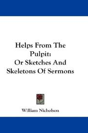 Cover of: Helps From The Pulpit