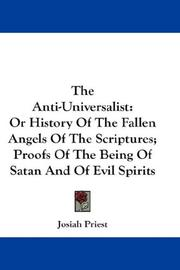 The Anti-Universalist by Priest, Josiah