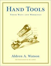 Cover of: Hand Tools | Aldren A. Watson
