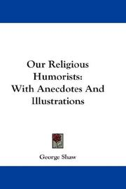 Cover of: Our Religious Humorists