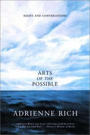Cover of: Arts of the Possible | Adrienne Rich