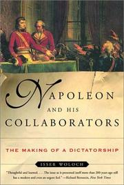 Cover of: Napoleon and His Collaborators | Isser Woloch
