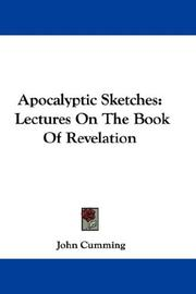 Cover of: Apocalyptic sketches