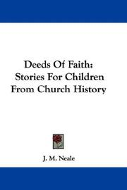Cover of: Deeds Of Faith