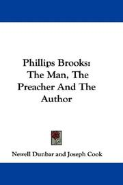 Phillips Brooks by Newell Dunbar