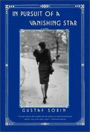 Cover of: In Pursuit of a Vanishing Star | Gustaf Sobin
