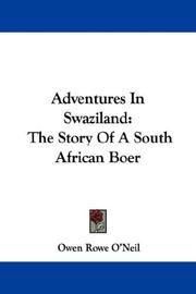 Cover of: Adventures in Swaziland