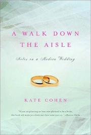Cover of: A Walk Down the Aisle