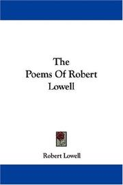 Cover of: The Poems Of Robert Lowell