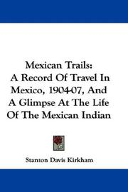 Cover of: Mexican Trails
