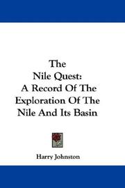 Cover of: The Nile Quest